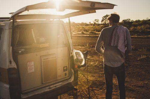 van road trip Australia